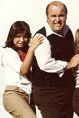 "With Dom Deluise on the set of ""Fatso"", MyLastBite.com"