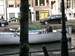 Canal, Amsterdam, June 2009.