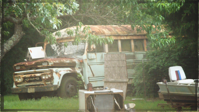 Beaten Down Bus