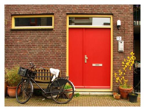 Red door by you.