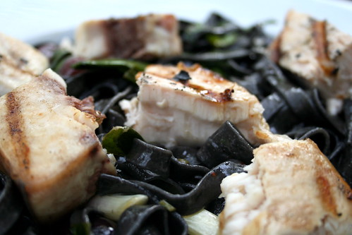 Nicks Pick: Squid Ink Pasta With Swordfish