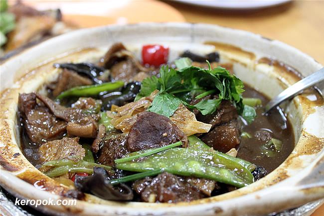 Mutton Claypot Stew