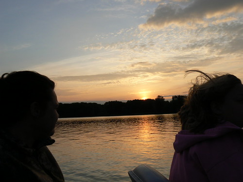 La Crosse, Wisconsin - Cori Looks at Sunset