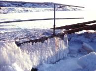 Winter in Varberg, 1982
