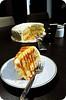 Banana Caramel Cake with Mascarpone Frosting