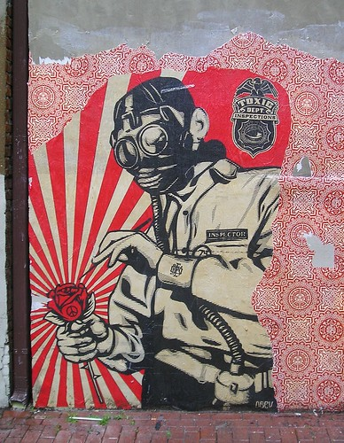 Shepard Fairey: Toxicity Inspector