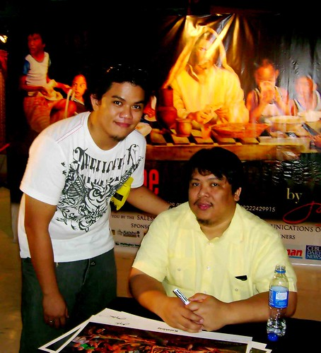 With Joey Velasco, the heartist
