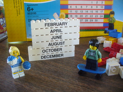 Brick Calendar 4