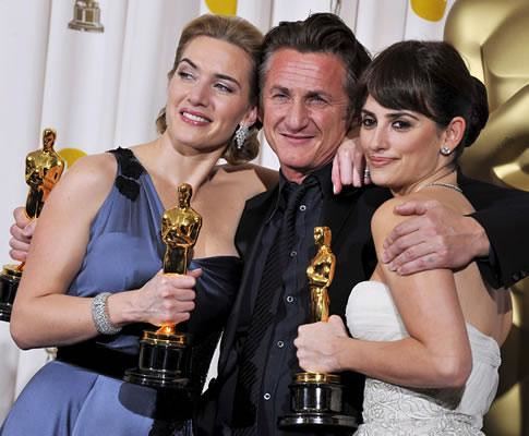 Sean Penn , Kate Winslet , Penelope Cruz