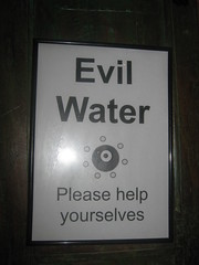 Evil Water at the Evil Eyes Lounge, Stonegate, York