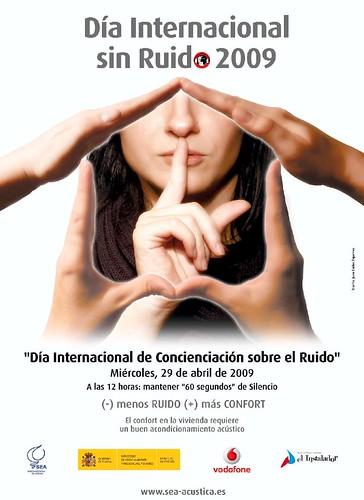 Día Internacional de Concienciación sobre el Ruido 2009.