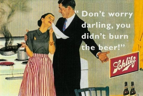 Sexist Ad for Beer