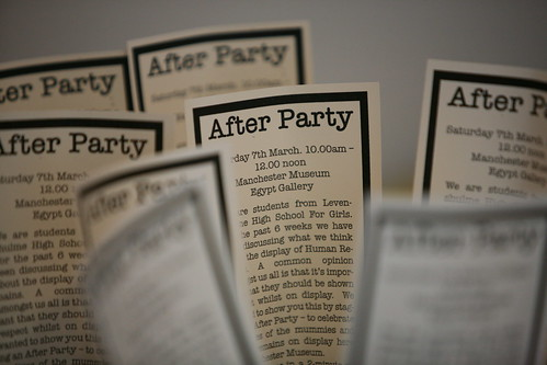 Image, After Party invitation