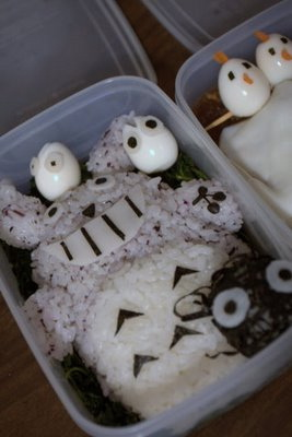 Totoro bento by Pirikara (Audrey), Created/posted on 2/9/2009