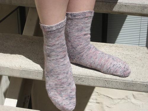 Soy/Silk/Wool socks