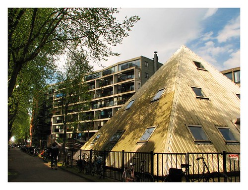 Pyramid in Amsterdam? by you.