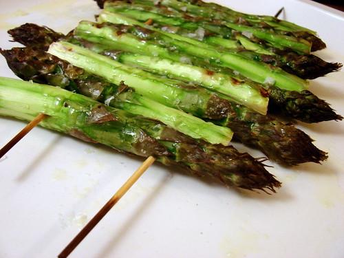 asparagus raft