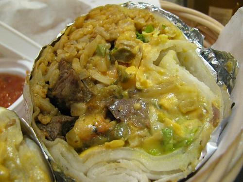 Burrito at Ristras 2