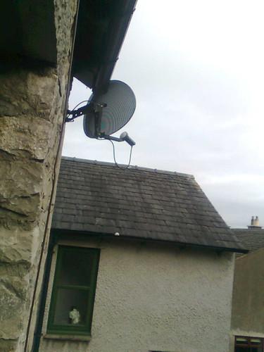 My rather unused satellite dish