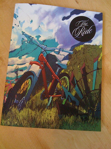 Issue 2 of the Ride.  Great artwork