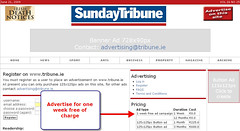 Sunday Tribune:  Free Advertising, 28 June 2009