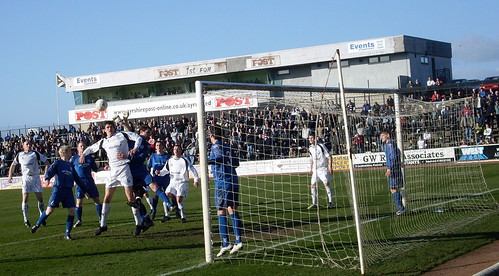 Ayr attack at a corner