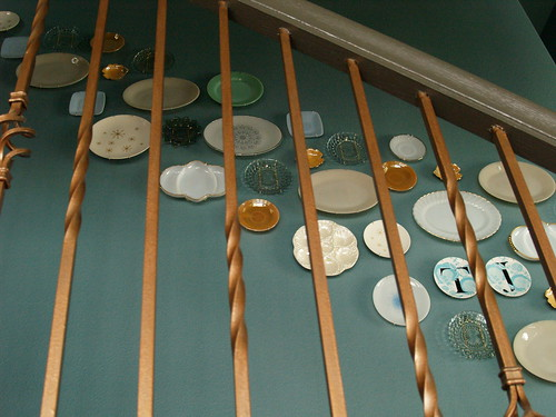 Plate Wall From the ground floor