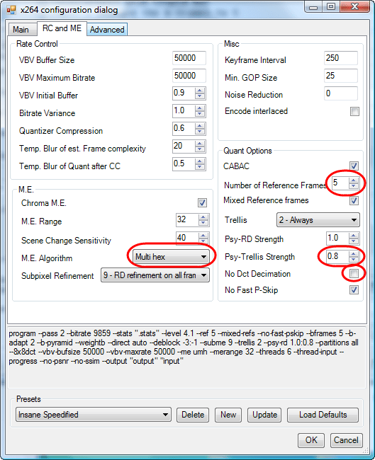 Guide for Re-encoding Blu-ray to x264 MKV With MeGUI | RIBO Labs