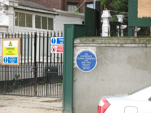 Sir Lawrence Alma-Tadema - Blue Plaque - Londo...