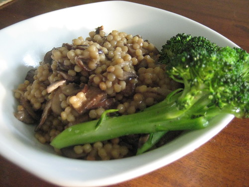 Baby Portabella Cous Cous, Organic Broccoli