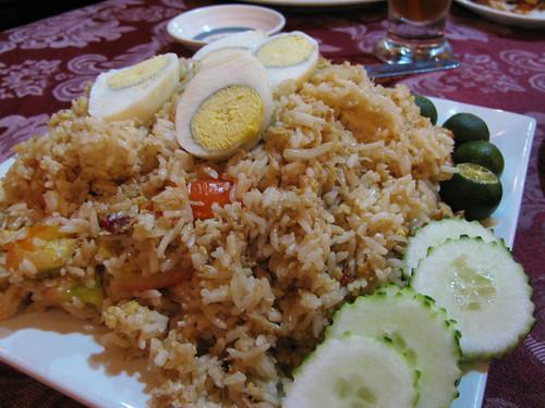 Crabmeat Fried Rice at Krung Thai