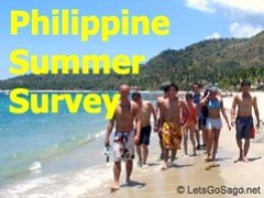 Philippine Summer Travel Survey