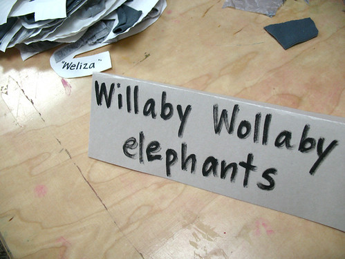 willaby wollaby elephants by you.