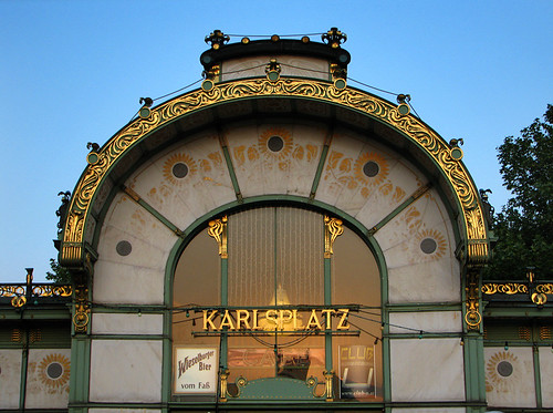 Otto Wagner's Stadtbahn Pavilions  by you.