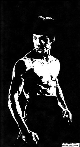 richard-serrao-bruce-lee-2-pen-and-ink