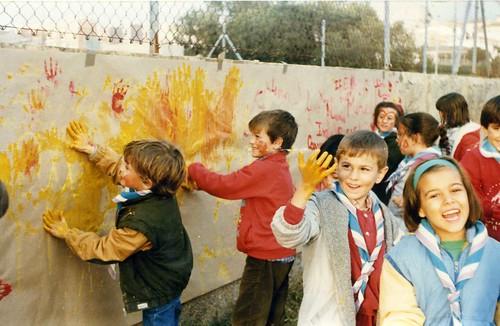 Curs 1986-87 i colònies a Can Frontanyà'87