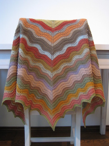 shawl done!