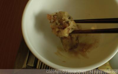 客家鐵板煎米食-海苔炸鹹肉粄