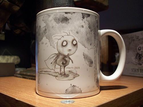Stain Boy mug - Tim Burto