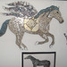 Pegasus and Hand Motif Mosaics by Marie-Claire
