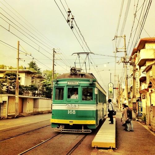 昭和の写真? いぇ、今朝の写真です。 (^o^)ノ < おはよー! #ohayo