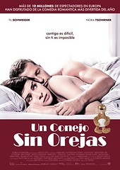 Un conejo sin orejas- cartel