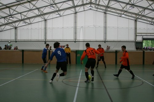 Indoor Football Men's 1sts 09/05/09 Photo: Shaun Morton