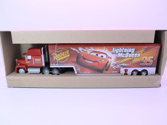 tomica disney cars mack,king,chick hicks,tongue mcqueen combo (7)
