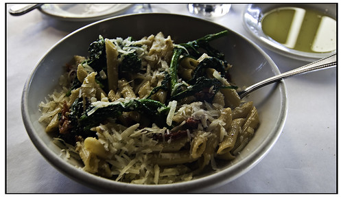 Penne Pasta with Sun Dried Tomatoes and Rapini - Vivo