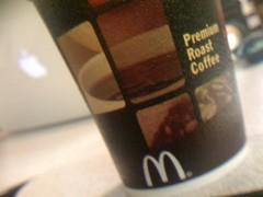 Premium Roast Coffee by McDonald's