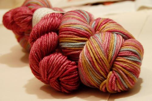 Swell yarn, dk , 360 yards.