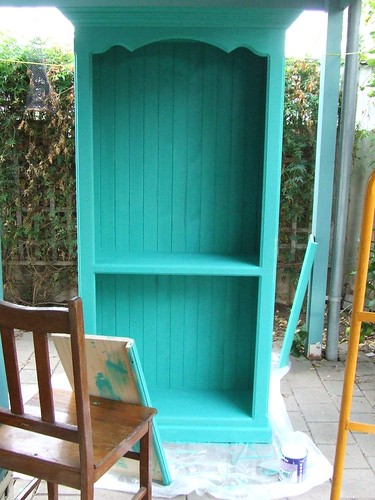 Painted shelves by you.