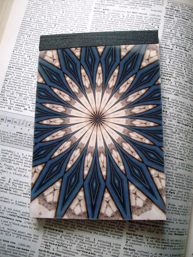Church Door Kaleidoscope notepad