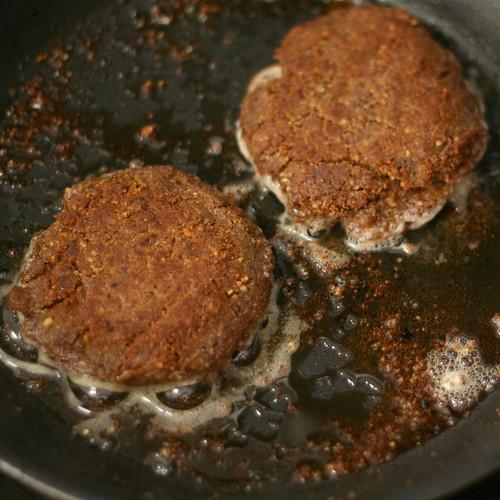 Lentil-Walnut Burgers